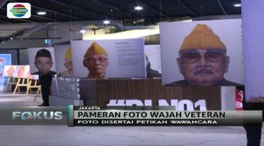 Peringati Hari Pahlawan, komunitas fotografi yang terdiri dari anak muda gelar pameran foto para veteran. Seperti apa?