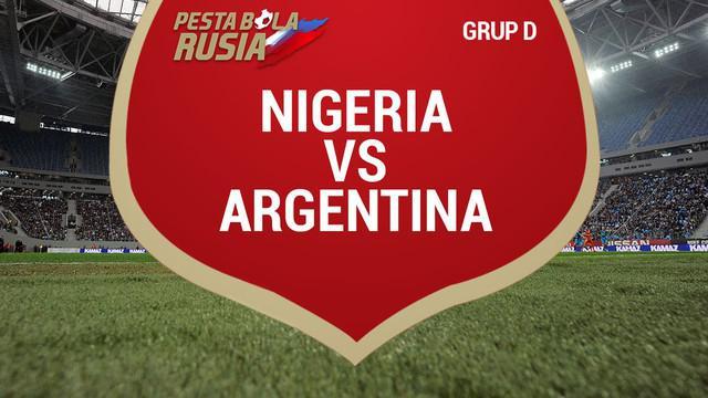 Berita video catatan data saat Argentina secara dramatis lolos dari fase Grup D setelah menaklukkan Nigeria 2-1.