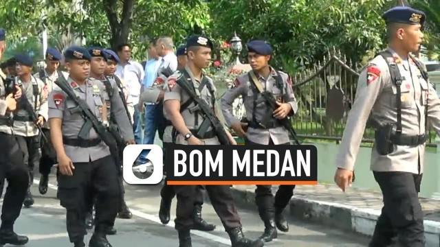 Pasca ledakan bom bunuh diri di Mapolrestabes Medan polisi melakukan sterilisasi di lokasi ledakan dan mengambil beberapa sampel ledakan. Polisi juga mengalihkan pengurusn SKCK ke sejumlah Polsek di Kota Medan.