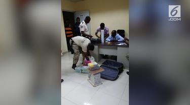 """Pasukan perdamaian """"Garuda Bhayangkara Indonesia"""" turut terlibat dalam pengungkapan peredaran kokain di Haiti."""