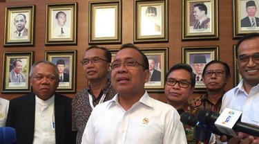 Menteri Sekretaris Negara (Mensesneg) Pratikno  selaku Ketua Komisi Pengarah Pembangunan Kawasan Medan Merdeka. (Merdeka.com/Intan Umbari Prihatin)