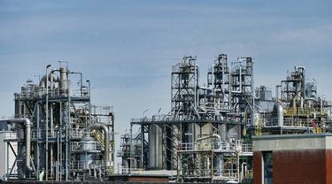 Ilustrasi fasilitas minyak Aramco Arab Saudi (Creative Commons / Pixabay)
