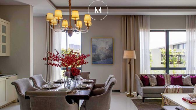 Desain Interior Rumah Modern Bernuansa Klasik Nan Berkelas Lifestyle Liputan6 Com