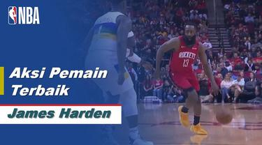Berita Video James Harden Bawa Houston Rockets Menang Atas New Orleans Pelicans 117-109