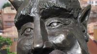 Gambaran patung setan berwajah ramah yang belum dipasang. (CITY OF SEGOVIA)