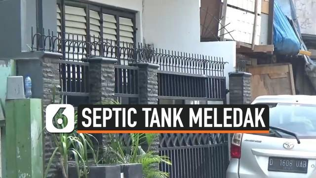 Polsek Metro Cakung menggelar olah TKP kasus meledaknya septic tank. Olah TKP untuk mengetahu penyebab meledaknya septic dilakukan tertutup. Karena pemilik rumah keberatan diliput wartawan.