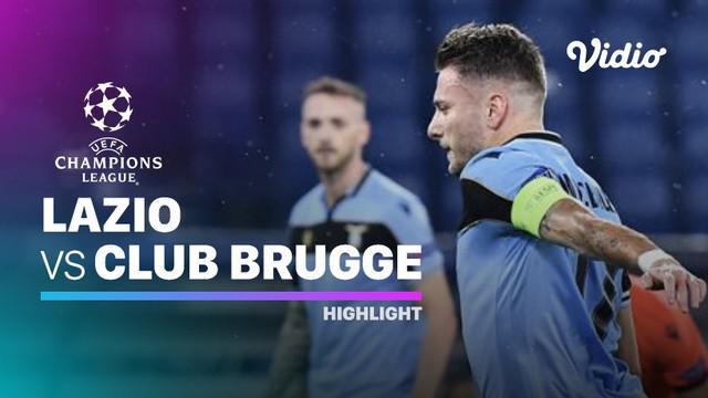 Berita video highlights matchday 6 Grup F Liga Champions 2020/2021 antara Lazio melawan Club Brugge yang berakhir dengan skor 2-2, Rabu (9/12/2020) dinihari WIB.