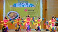 Launching Akademi Kuliner Betawi (AKB) di Aula SMK N 57 Jakarta, 21 November 2019. (Liputan6.com/Asnida Riani)