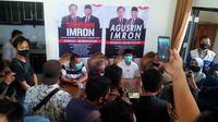 Tim pemenangan Pasangan Agusrin-Imron memastikan untuk mengambil langkah hukum atas keputusan KPU Bengkulu terkait Pilkada 2020. (Liputan6.com/Yuliardi Hardjo)