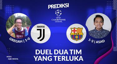 Prediksi Liga Champions: Juventus vs Barcelona. (Bola.com/Dody Iryawan)