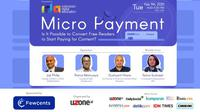 """Webinar IDA: """"Micro Payment : Is it possible to convert free readers to start paying for content?"""""""