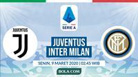 Serie A: Juventus vs Inter Milan. (Bola.com/Dody Iryawan)