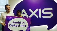 Axis `Iritology` (Denny Mahardy/ Liputan6.com)