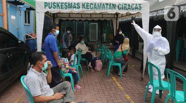 Kasus Positif COVI-19 di Jakarta Bertambah 2.096 Orang