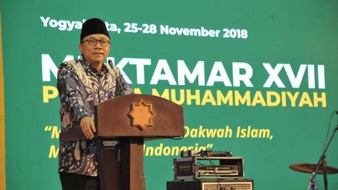 Ketua MPR Zulkifli Hasan berharap Muktamar Pemuda Muhammadiyah Ke XVII di Yogyakarta bisa memperkokoh kebersamaan dan jati diri pemuda Muhammadiyah