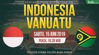 Timnas Indonesia Vs Vanuatu (Bola.com/Adreanus Titus)