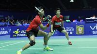 Ganda campuran Indonesia Tontowi Ahmad/Liliyana Natsir siap sumbang poin lawan Taiwan di Piala Sudirman 2015 (Humas PP PBSI)