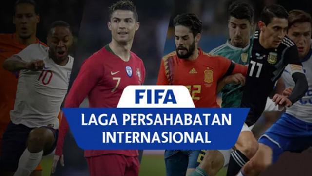Berita video hasil laga persahabatan internasional. Jerman kalah 1-2 dari Austria, Spanyol ditahan 1-1 oleh Swiss.