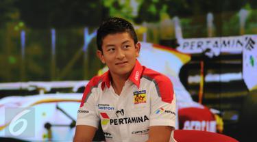 20150731-Kunjungan Pembalap GP2-Jakarta-Rio Haryanto