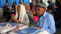 Pasangan Renta Kakek 74 Tahun Nikahi Nenek 114 Tahun
