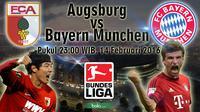 Ausburg vs Bayern Munchen (Bola.com/Samsul Hadi)