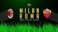 Milan vs Roma (Liputan6.com/Ari Wicaksono)
