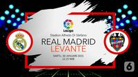 Real Madrid vs Levante (Liputan6.com/Abdillah)