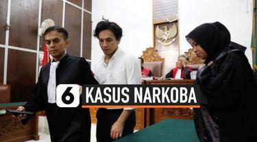 Jefri Nichol kembali menjalani sidang kasus narkoba di pengadilan Negeri Jakarta Selatan, Senin (11/11/2019). Sidang telah sampai pada babak akhir yaitu putusan.