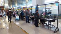 Rapid test antibodi tak berlaku di Bandara Soetta saat Libur Natal dan Tahun Baru (Liputan6.com/Pramita Tristiawati)