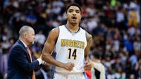 Shooting guard, Gary Harris, memutuskan tetap bertahan di Denver Nuggets. (NBA)