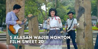 Tatjana Saphira mengungkapkan lima alasan menarik dari film Sweet 20.