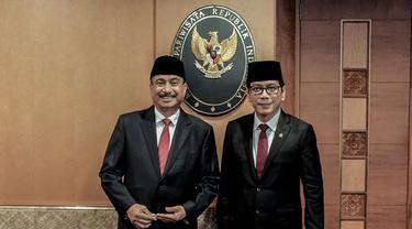 Meleleh Air Mata, Pamitan Arief Yahya di Gedung Sapta Pesona