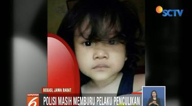 Seorang balita perempuan diduga diculik seorang wanita paruh baya saat bermain di Masjid Al-Amin, Bekasi Barat.
