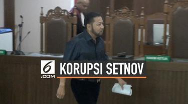 Terpidana korupsi pengadaan KTP elektronik Setya Novanto mengajukan lima bukti baru ke Hakim Pengadilan Negeri Jakarta Pusat dalam sidang perdana Peninjauan Kembali, Rabu (28/8/2019).