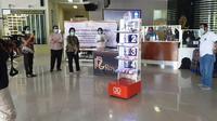 Minimalisir Kontak Fisik, RS Royal Surabaya Pakai Robot untuk Tangani Pasien. foto: istimewa