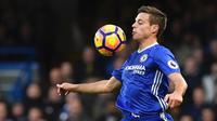 Bek Chelsea asal Spanyol, Cesar Azpilicueta. (AFP/Ben Stansall)