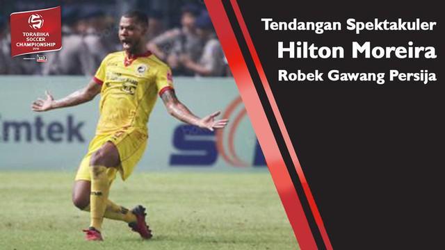 Untuk yang kedua kalinya Hilton Moreira mencetak gol lewat tendangan bebas pada ajang TSC 2016, seperti apa golnya? simak video berikut ini.