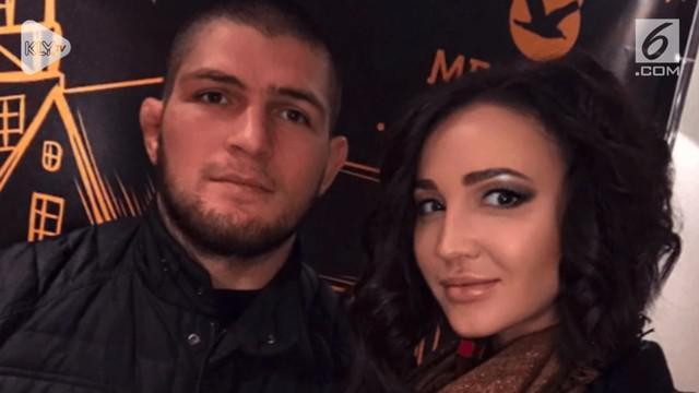 Beredar di internet yang diduga sosok istri Khabib Nurmagomedov, benarkah itu istrinya?