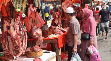 Pedagang Daging Musiman Menjamur