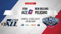 Utah Jazz Vs New Orleans Pelicans (Bola.com/Adreanus Titus)
