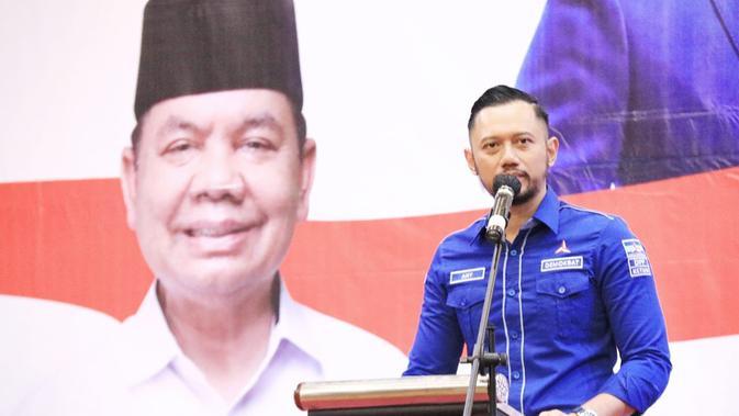 Datang ke Surabaya, AHY Gerakkan Mesin Partai Menangkan Pasangan MaJu