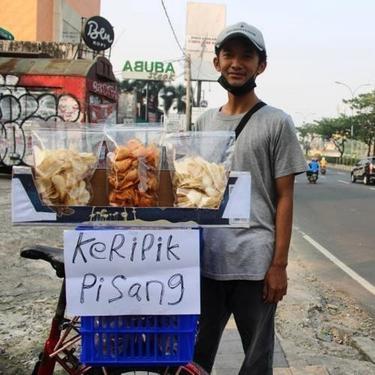 Pedagang Bersepeda