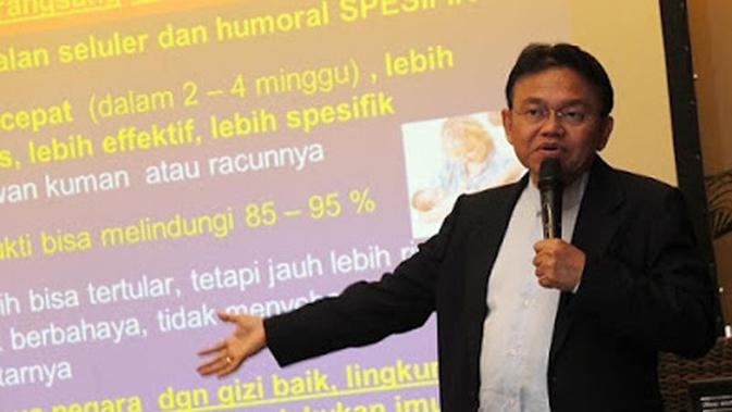 Penasihat Ahli Imunisasi Prof Soedjatmiko: Tiap Fa