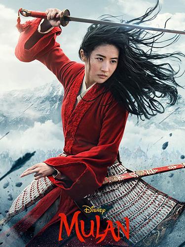 Poster film Mulan. (Foto: IMDb/ Disney)