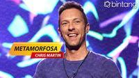 Metamorfosa Chris Martin. (DI: Nurman Abdul Hakim/Bintang.com)