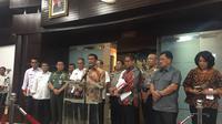 Menko Polhukam Wiranto saat umumkan Perppu Ormas (Liputan6.com/Muhammad Radityo Priasmoro)