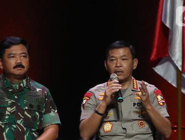 Rakornas Indonesia Maju, Kapolri dan Panglima TNI Bicara Keamanan Negara