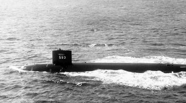kapal selam amerika