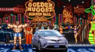 Toyota C-HR di Game Street Fighter