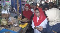 Calon Wakil Gubernur Jawa Timur nomor urut 2 Puti Guntur Soekarno. (Liputan6.com/Dian Kuriawan)
